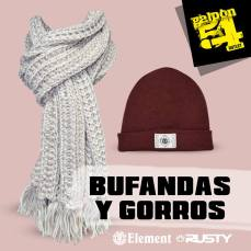 bufandas y gorros
