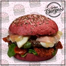 hamburguesa remolacha